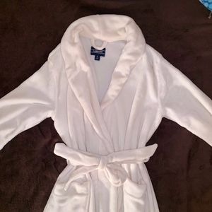 Super Soft Cream Robe